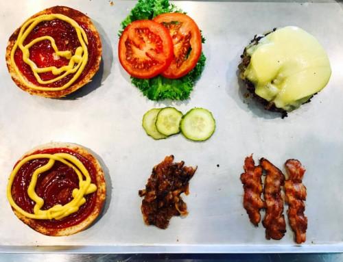 Der Bacon Burger und seine Zutaten